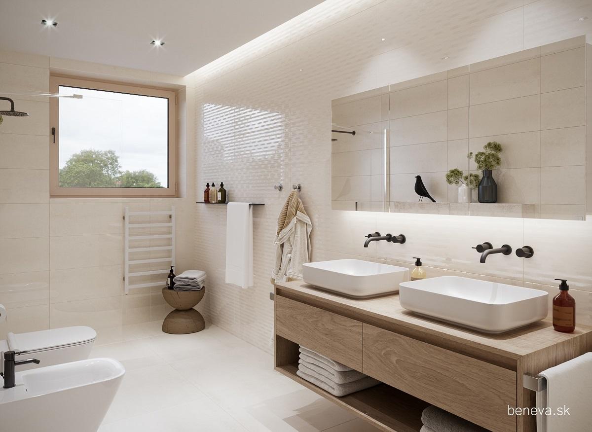 Moderná kúpeľňa / Vizualizácia - Obrázok č. 5