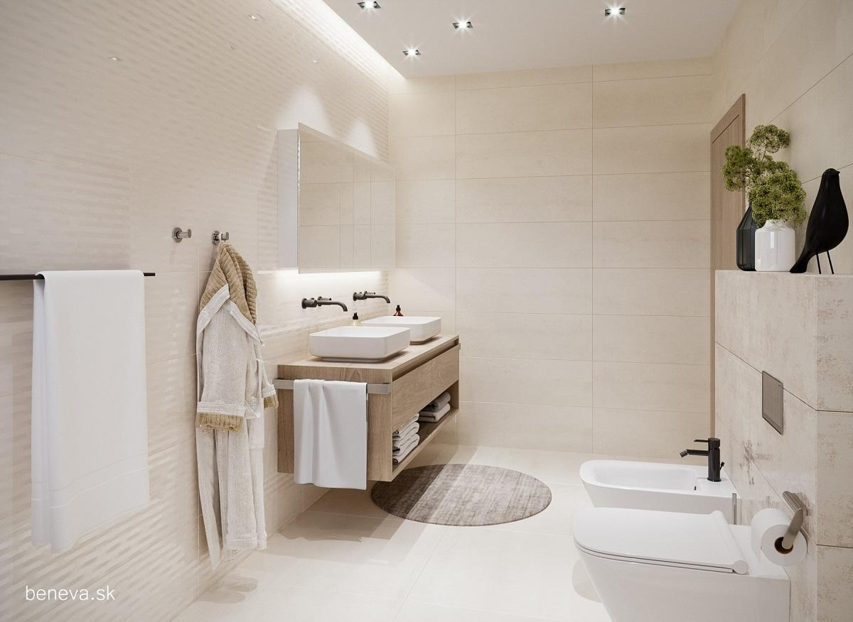 Moderná kúpeľňa / Vizualizácia - Obrázok č. 6