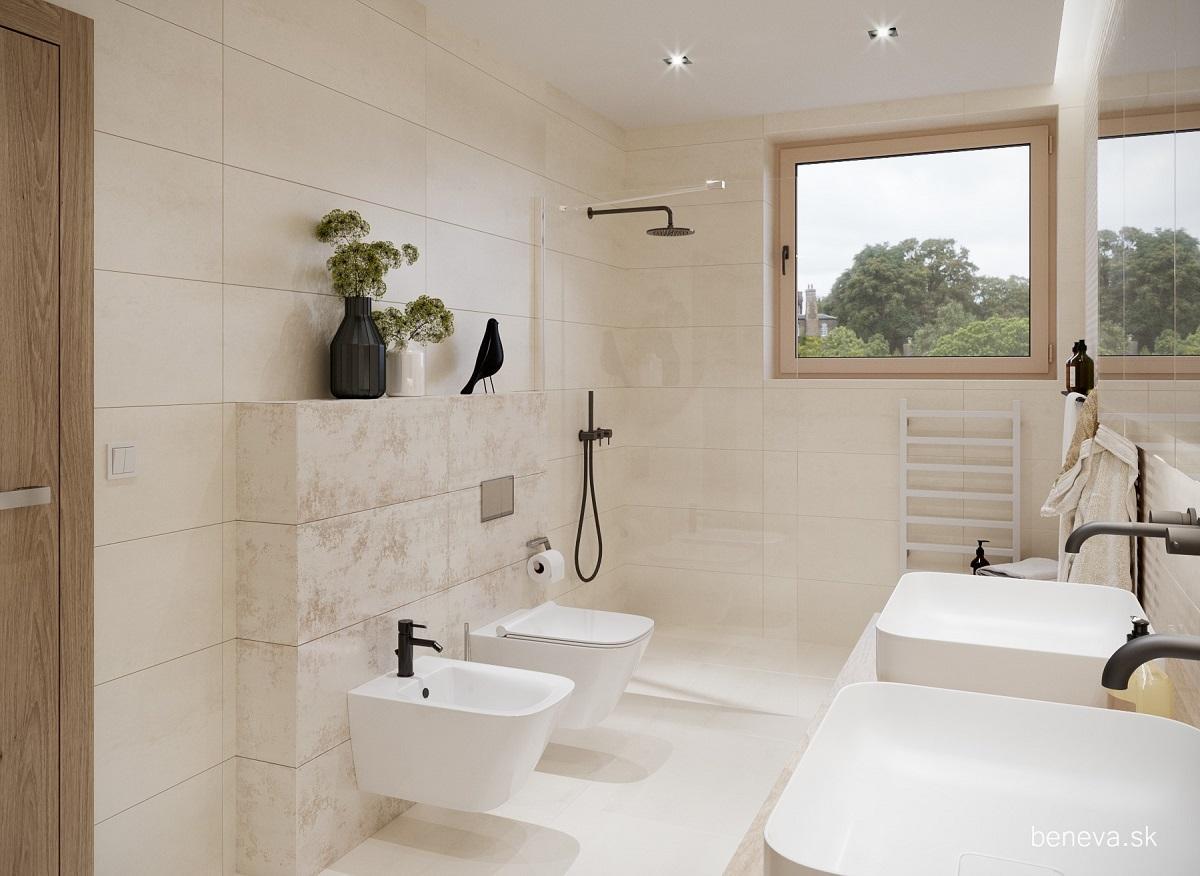 Moderná kúpeľňa / Vizualizácia - Obrázok č. 7