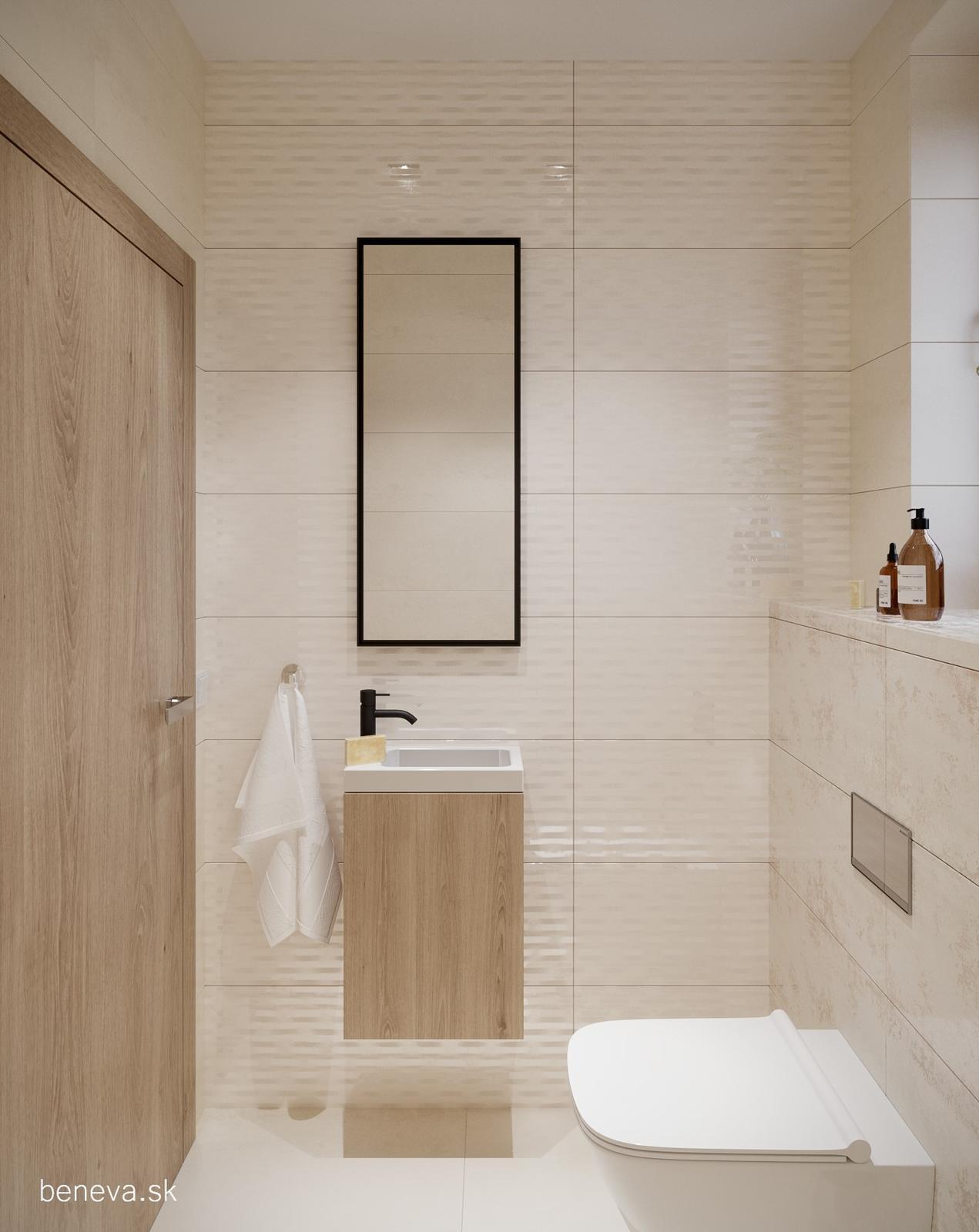 Moderná kúpeľňa / Vizualizácia - Obrázok č. 9