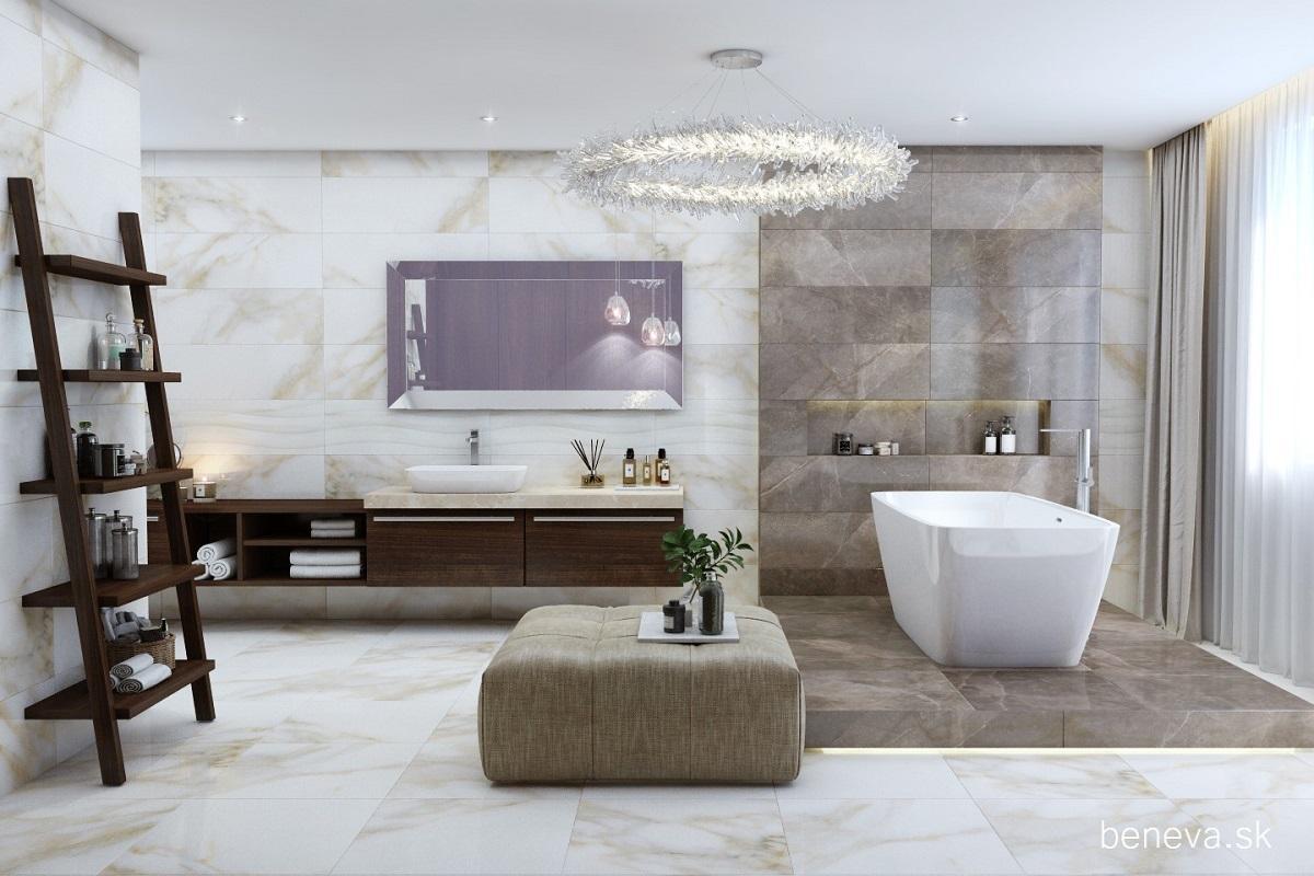 Mramorová kúpeľňa - Vizualizácie - Obrázok č. 36