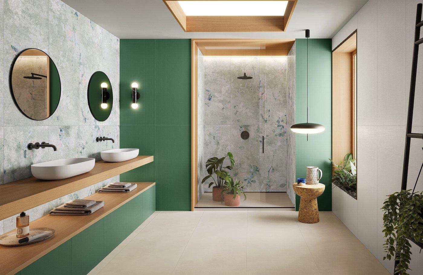 Zelená v kúpeľni - Obrázok č. 1