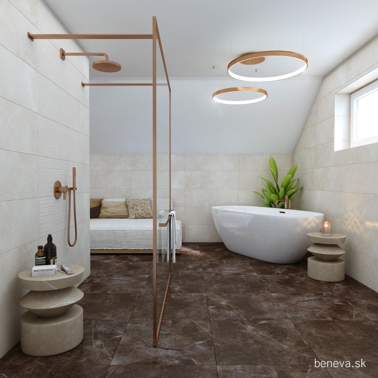 Mramorová kúpeľňa - Vizualizácie - Obrázok č. 42