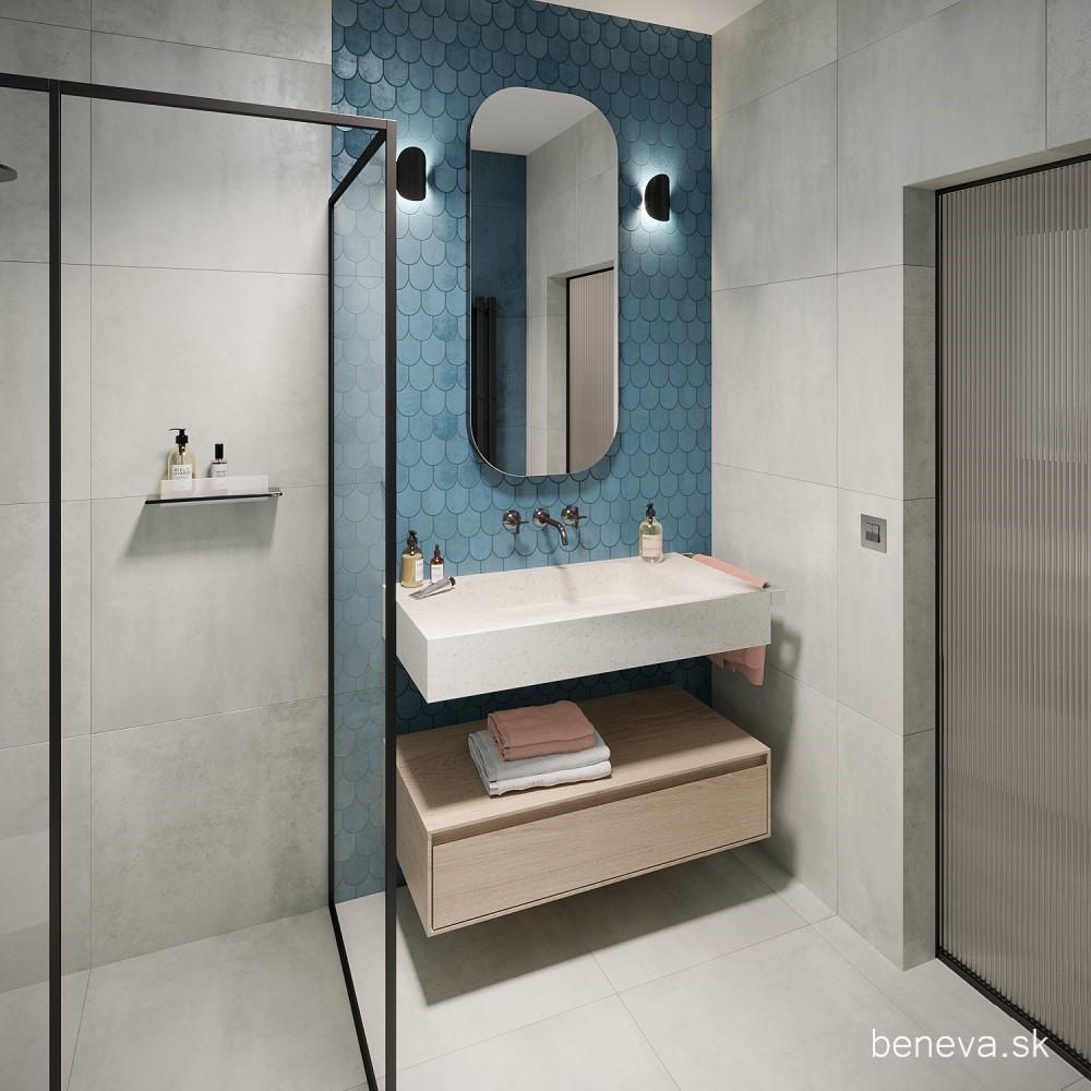 Vizualizácie / Malé kúpeľne a WC - Obrázok č. 20