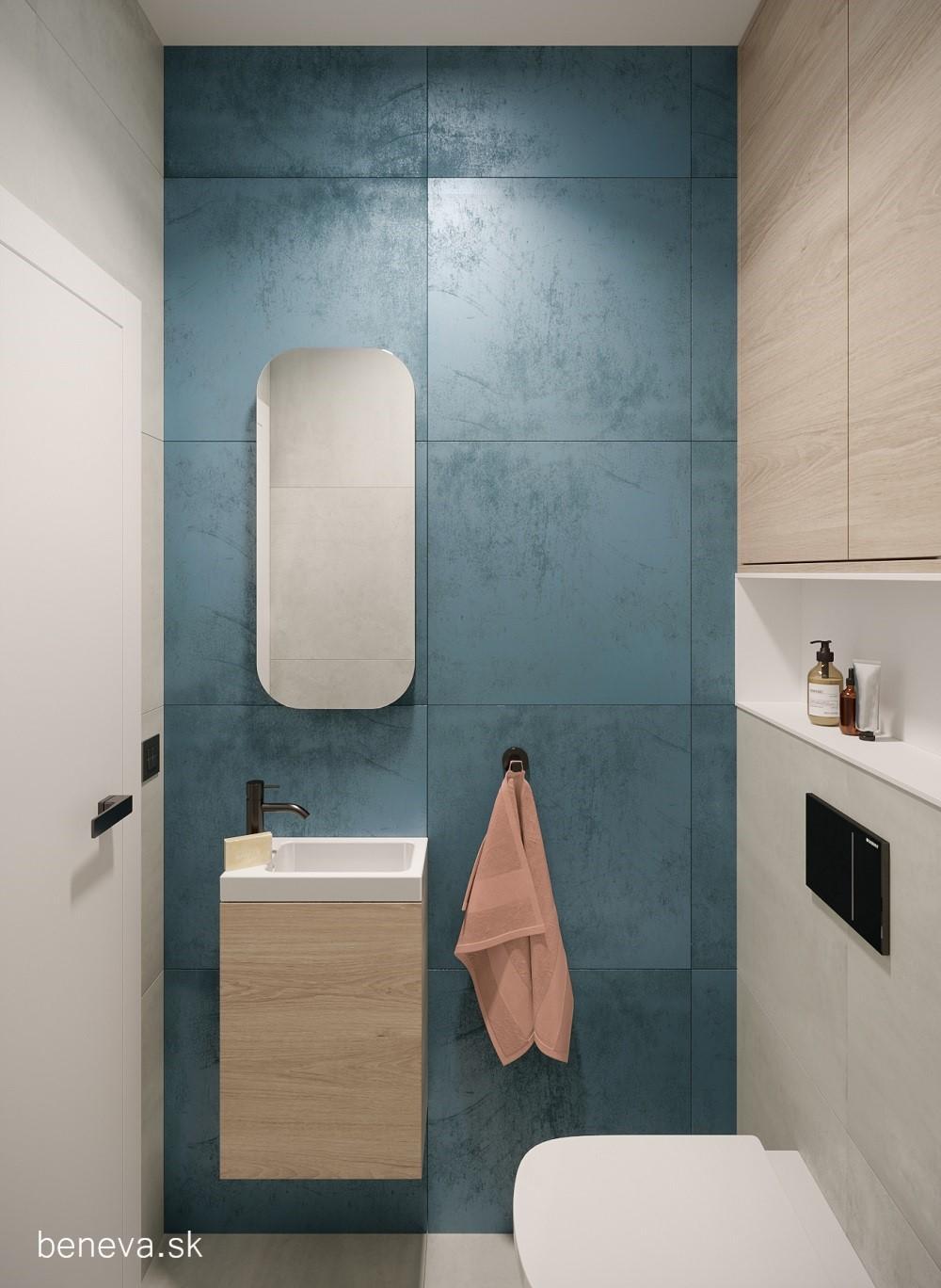 Vizualizácie / Malé kúpeľne a WC - Obrázok č. 21