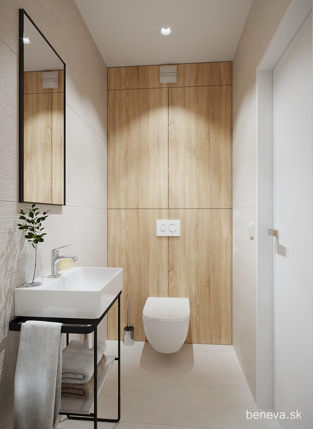 Vizualizácie / Malé kúpeľne a WC - Obrázok č. 24