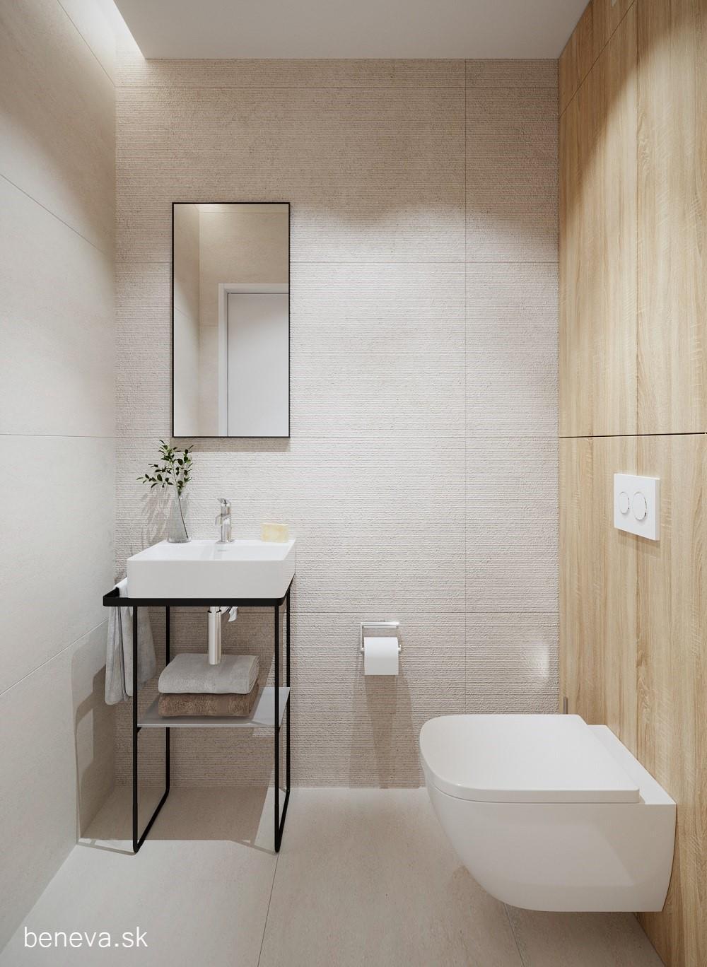 Vizualizácie / Malé kúpeľne a WC - Obrázok č. 25