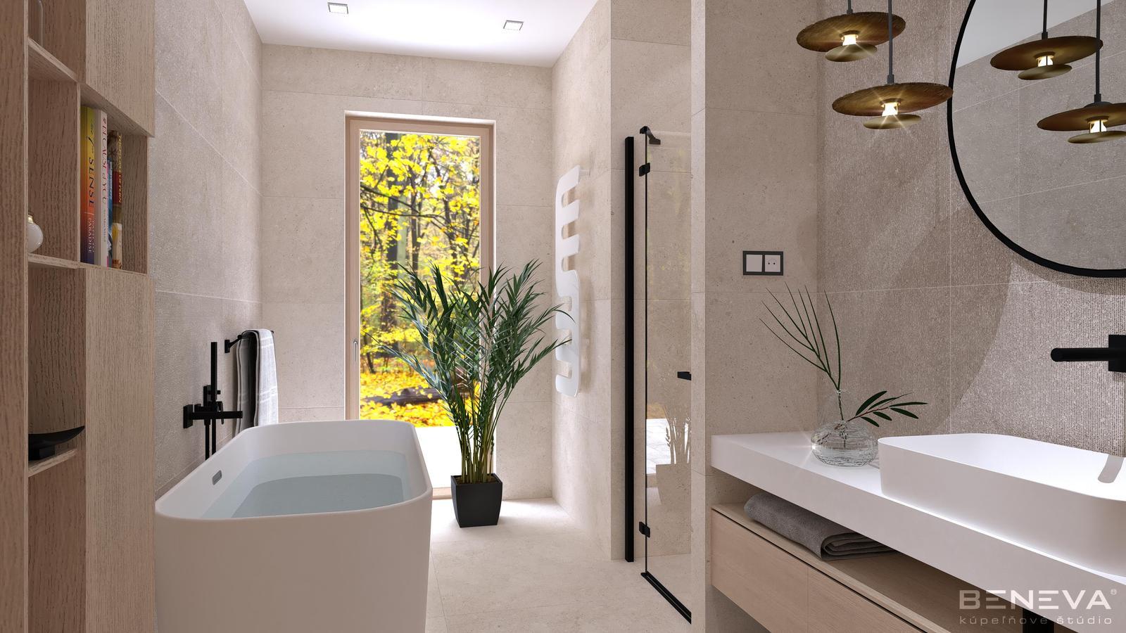 Návrh kúpeľne v rodinnom dome - Obrázok č. 1