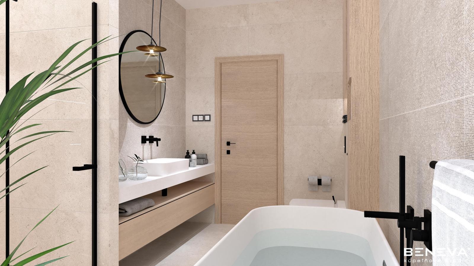 Návrh kúpeľne v rodinnom dome - Obrázok č. 2