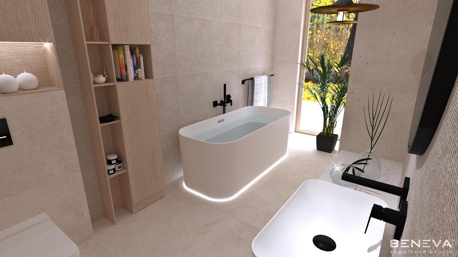 Návrh kúpeľne v rodinnom dome - Obrázok č. 3