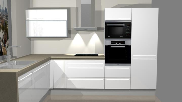 Realizácia - vizualizácia kuchyne DanKuchen - Obrázok č. 2