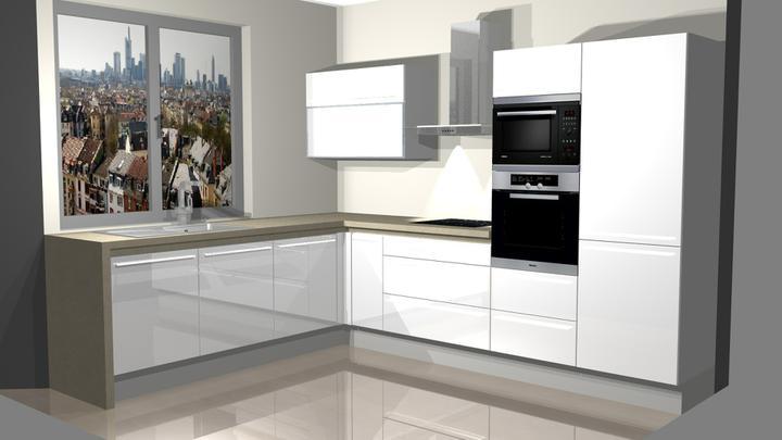 Realizácia - vizualizácia kuchyne DanKuchen - Obrázok č. 1