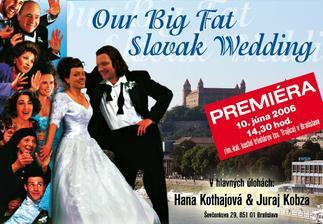 naše oznamko na motív filmu moja tučná gréc.svadba, len hlavy a pozadie je naše..
