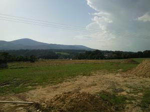 Výhled z terasy 22.8.2011