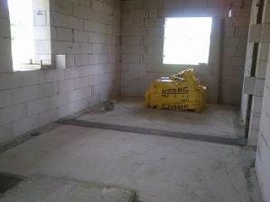 Koupelna a ložnice 22.8.2011