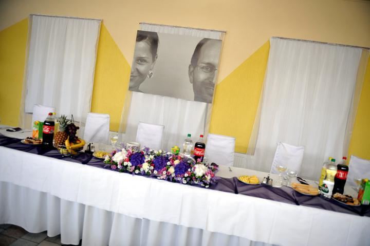 Janka{{_AND_}}Mato - svadobna vyzdoba - svadobny dar od kamosky, do poslednej chvile to bolo prekvapko..