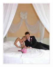Svatební apartmá Hotelu Mlýn