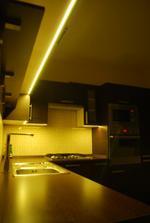 Jedno z osvetlení v kuchyni