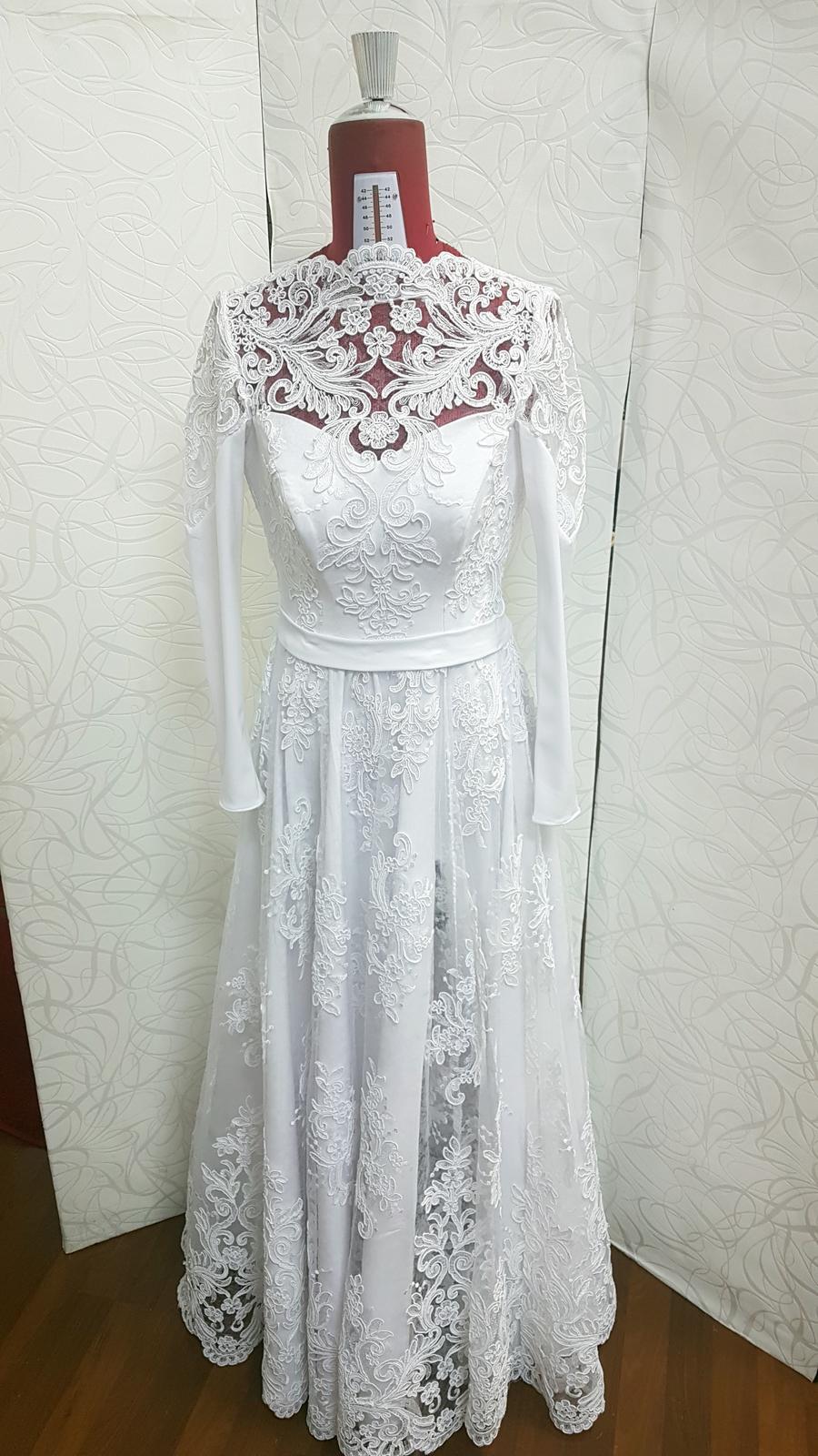 Svadobné šaty na mieru za ceny ktoré potešia - Obrázok č. 5