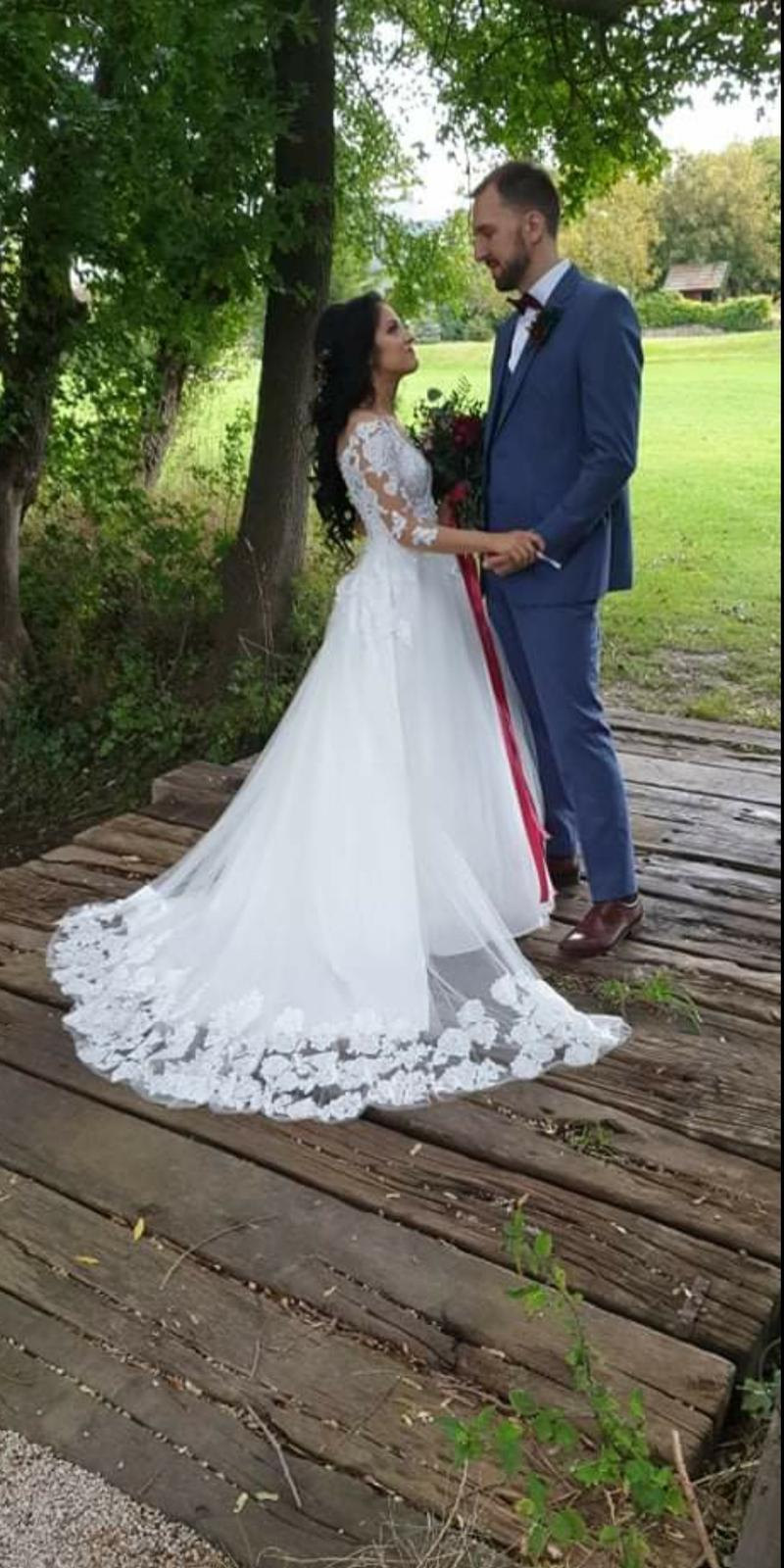 Svadobné šaty ,ktoré nenabúrajú váš rozpočet!! - Obrázok č. 1