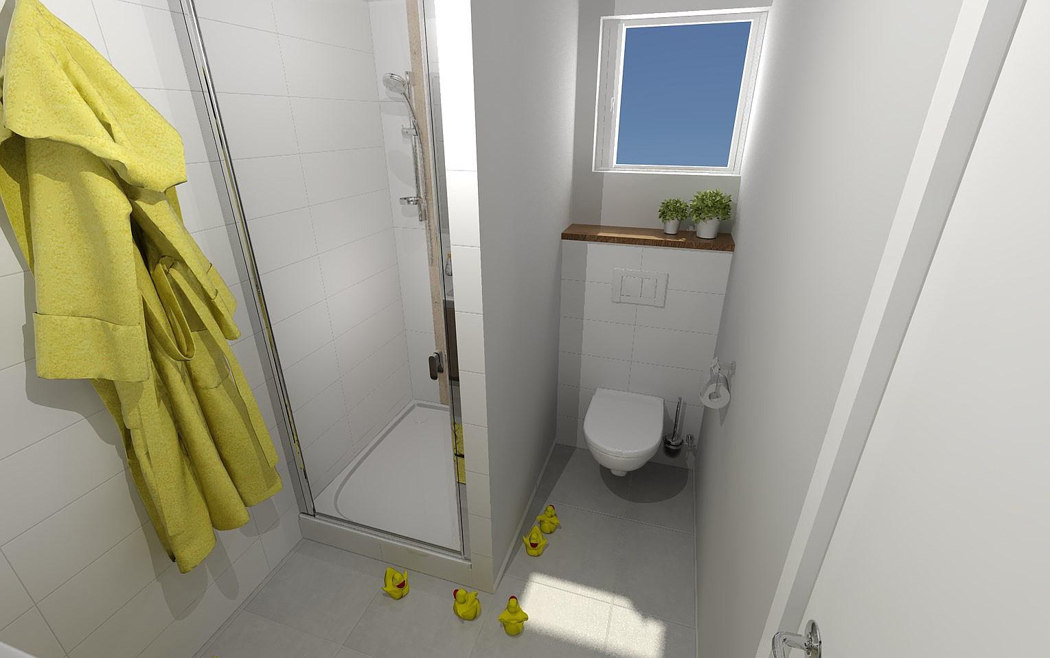 Vizualizace koupelen v našem Kubisu 74 :) - Obrázek č. 2