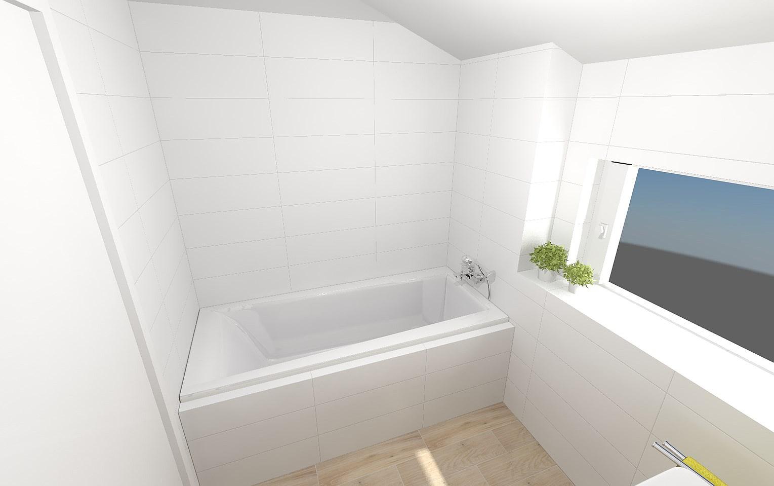 Vizualizace koupelen v našem Kubisu 74 :) - Obrázek č. 10