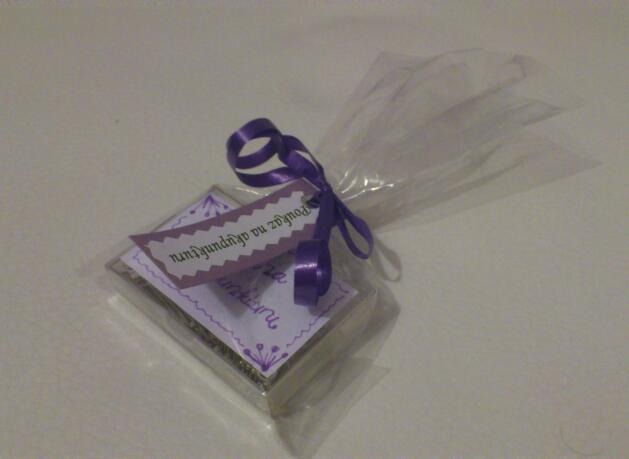 Svatební tombola - Poukaz na akupunkturu - krabička špendíků:-)