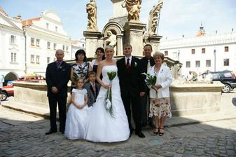 Rodiče, svědci a brácha