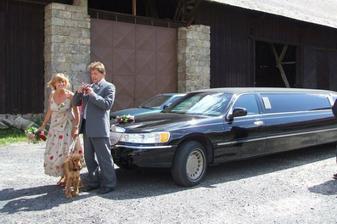 andy nemohl na svatbě chybět...