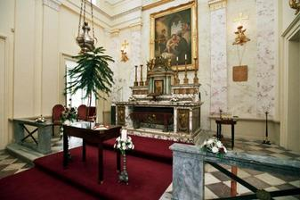kaple na zámku Kynžvart