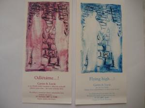 svatební oznámení-variace růžová a modrá,čj a anj