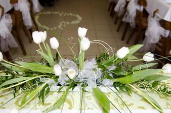 Tulipány, mé nejoblíbenější květiny, které byly na hostině jsme dostaly darem od kamaráda....
