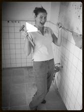 Jupííííí, moje první devastace kachliček v kuchyni :-)
