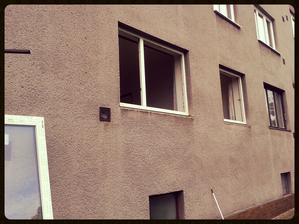 Okna při výměně.....