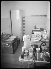 """Náš krásný ,,bordel"""" v kuchyni :-) Spotřebiče sice už máme, kuchyň bude až za 14dní."""
