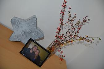Když už sněžilo na Slovensku, tak jsem oprášila zimní dózu ze skříńky, abych na ni nezapomněla :-) Jen nevím, co s ní. Vloni jsem v ní měla vlaš. ořechy...
