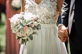 Svatební šaty vel. XS , 34