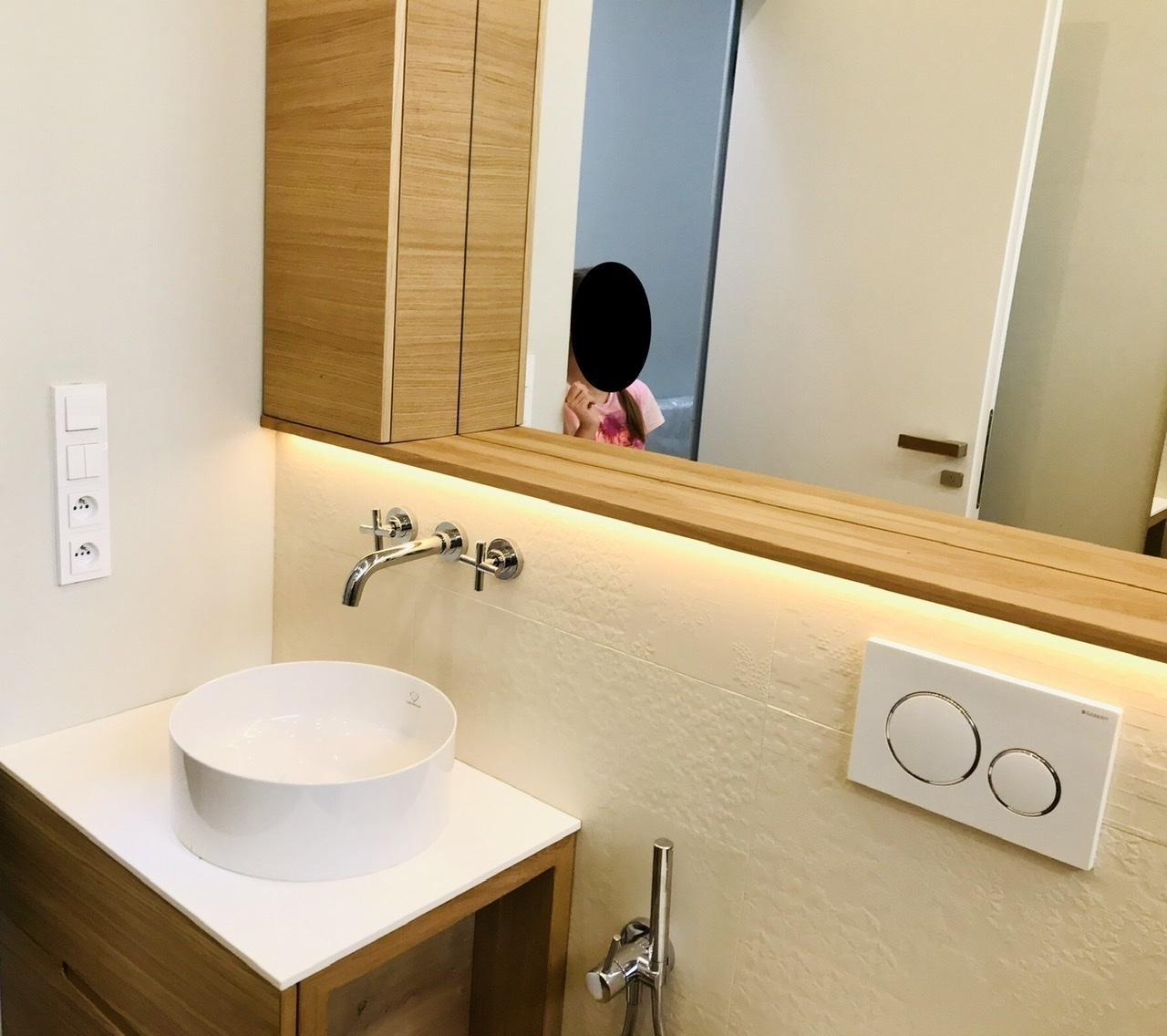 Naše L-ko - 2021 - stále dokončujeme - Málá kúpelňa