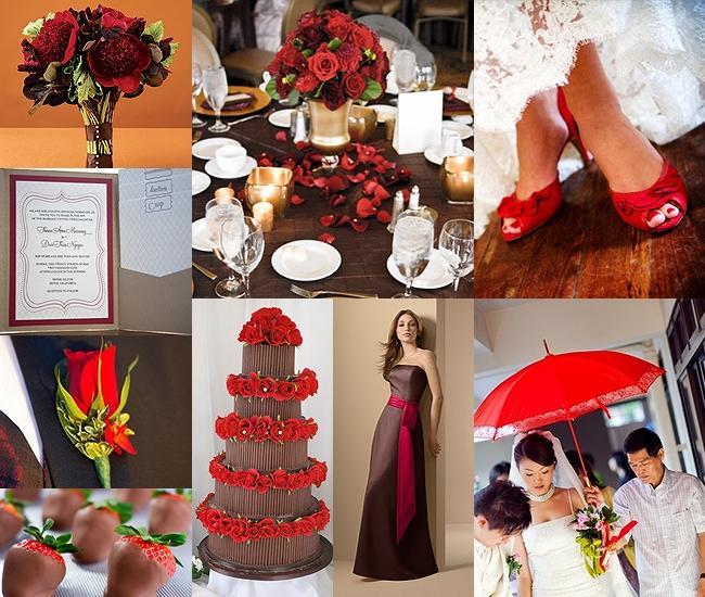 RedVelvet alebo červeno-hnedá inšpirácia :) - Obrázok č. 12