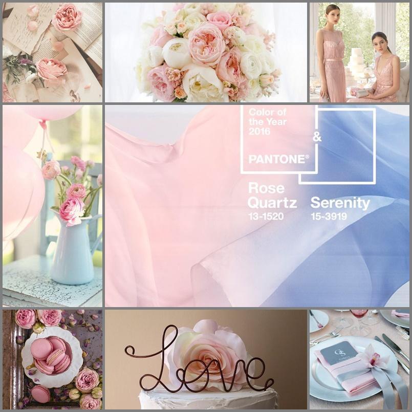 Rose quartz and serenity alebo kryštaľovo ružová a upokojujúca modrá :) - Obrázok č. 3