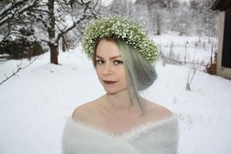 ešte nie nevesta, zatiaľ len snehová kráľovná