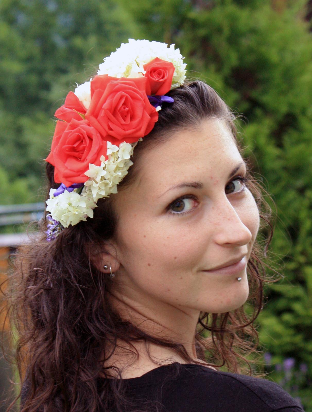 Kvetinové tvorenie - z lásky ku kvetom :)