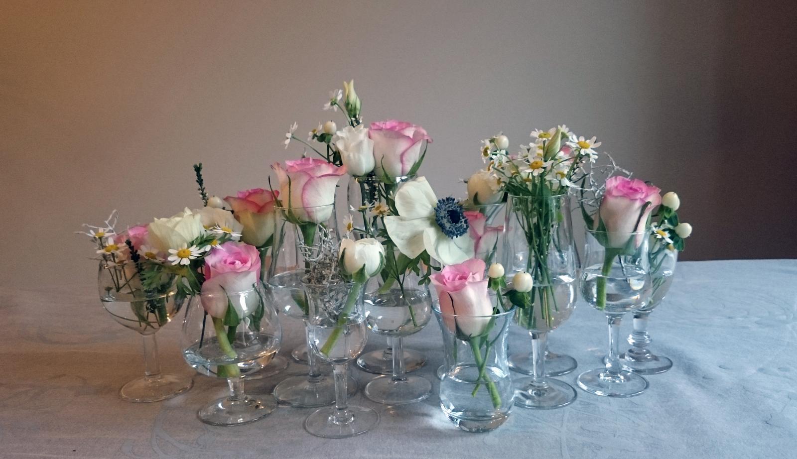 Kvetinové tvorenie - keď láska nie je červená :)