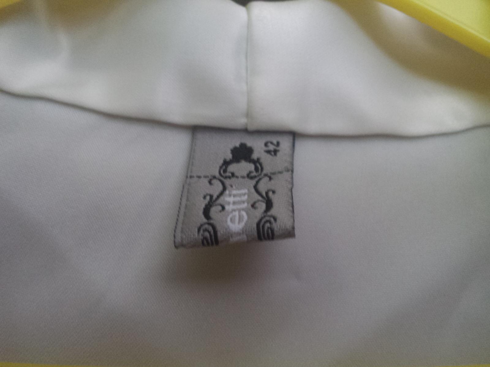 Bolerko s čipkovanými rukávmi, veľkosť 42 - Obrázok č. 2