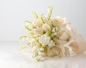 Konvalinky,tulipány,růže