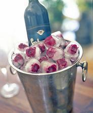 aj toto vyrobíme ale z bielimi a modrými ružičkami