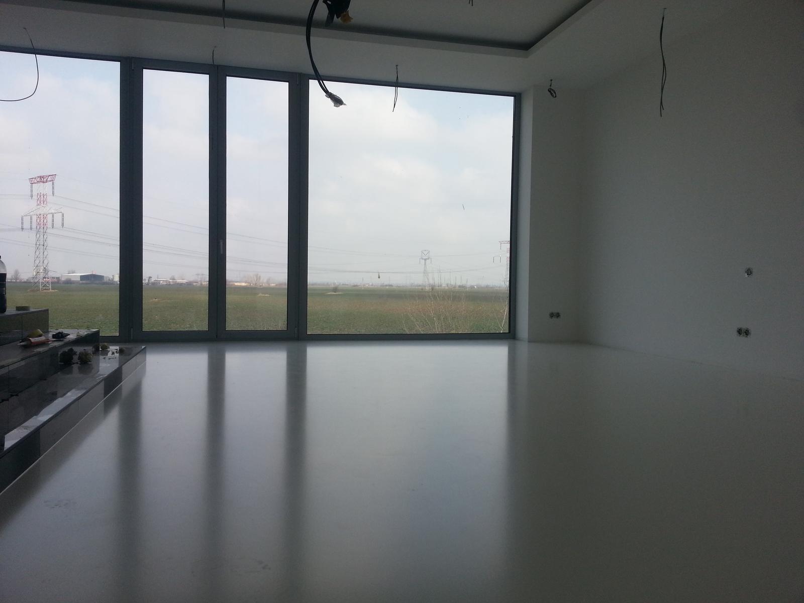 Liata podlaha - moja nová realizácia :) - Krásny priestor budúcej spálne