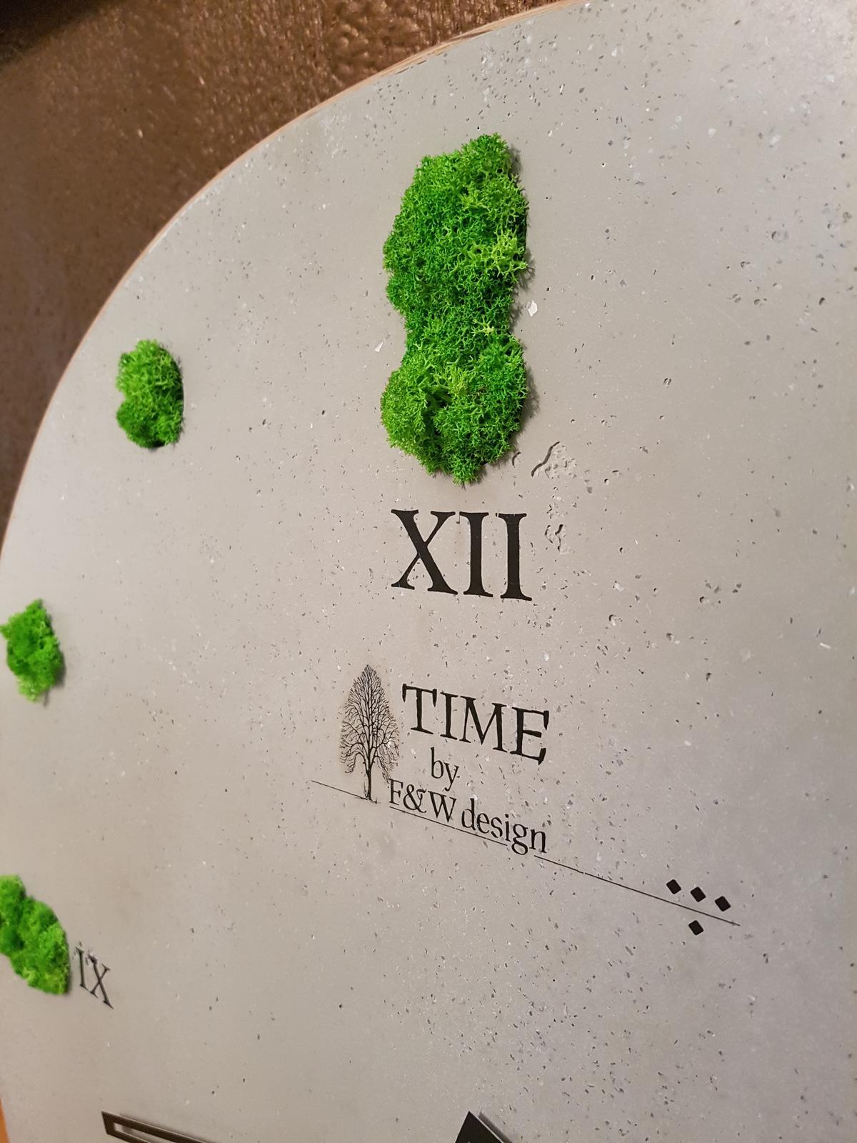 Kreatívne hodiny - Podpis nesmie chýbať