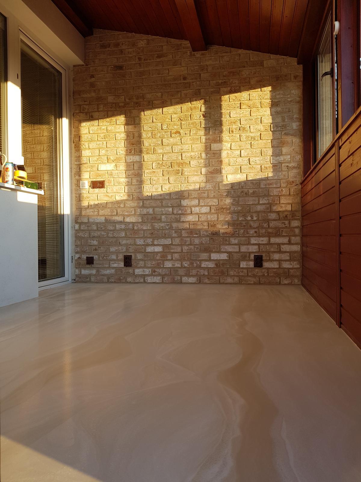 Dizajnová liata podlaha - Obrázok č. 1