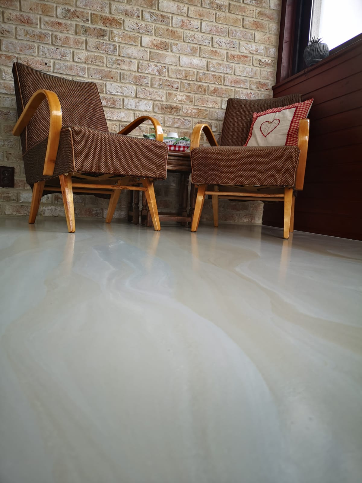 Dizajnová liata podlaha - Obrázok č. 2